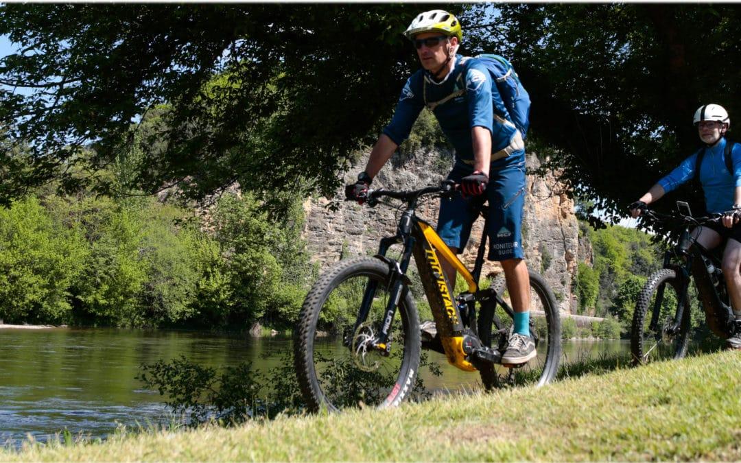 Du VTT électrique dans la vallée de la Dordogne